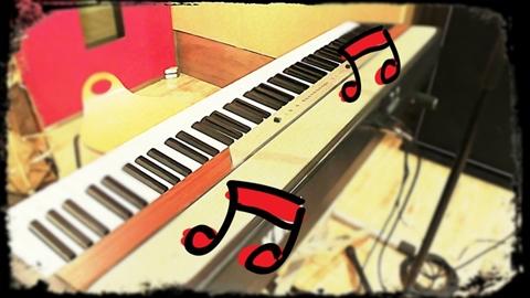 幸せな音を奏でるピアノ