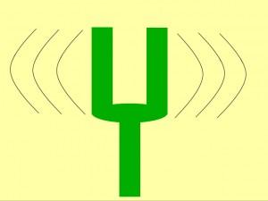 音叉の振動。波動は似たもの同士が引き合うようになっている。それがスピリチュアルな波動の法則です。