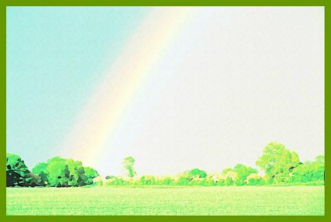 笑いと虹のかかる世界