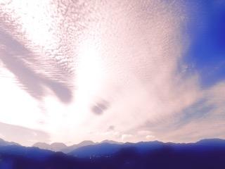 心の雲が晴れると見えてくる