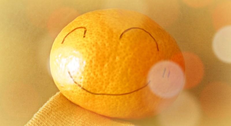 心からの笑顔