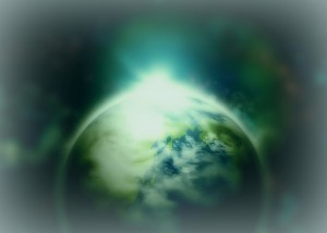 世界とひとつ。宇宙とひとつ。