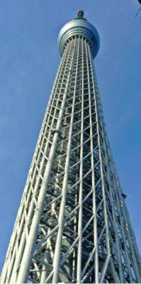 人生の目的は大きな柱(東京スカイツリー)